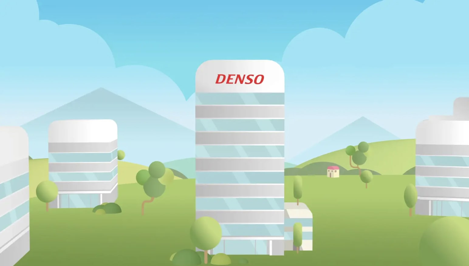 First Animation DENSO Eco Vision 2025